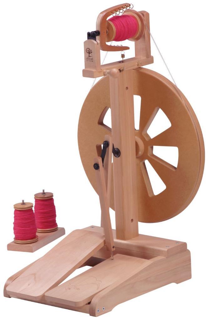 Ashford kiwi Spinning Wheel 2 Natural