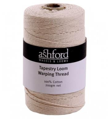 Tapestry loom Warping Thread
