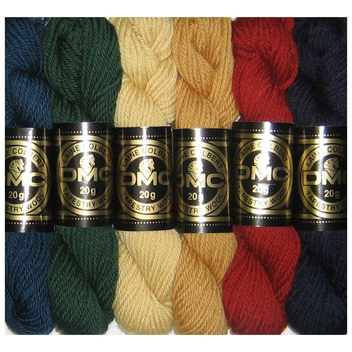 Tapestry wool hanks