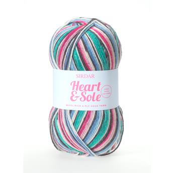 Sirdar Heart and Sole 4 Ply Sock Yarn