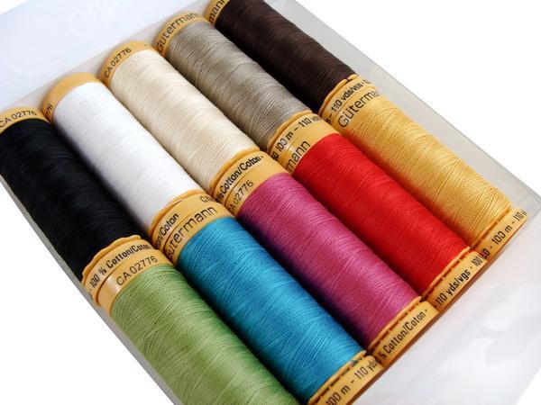 Gutermann threads (Cotton)