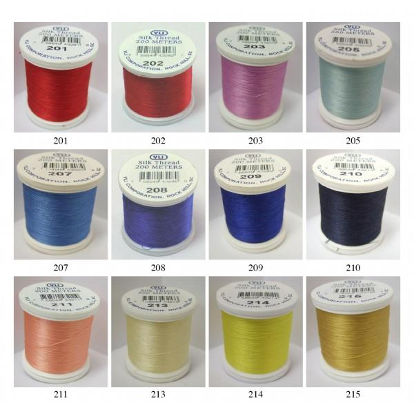 YLI Silk Threads