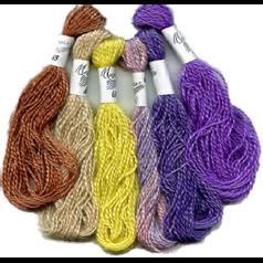 Mohair threads