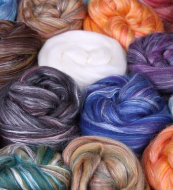 Ashford Merino/Silk Sliver 100gm