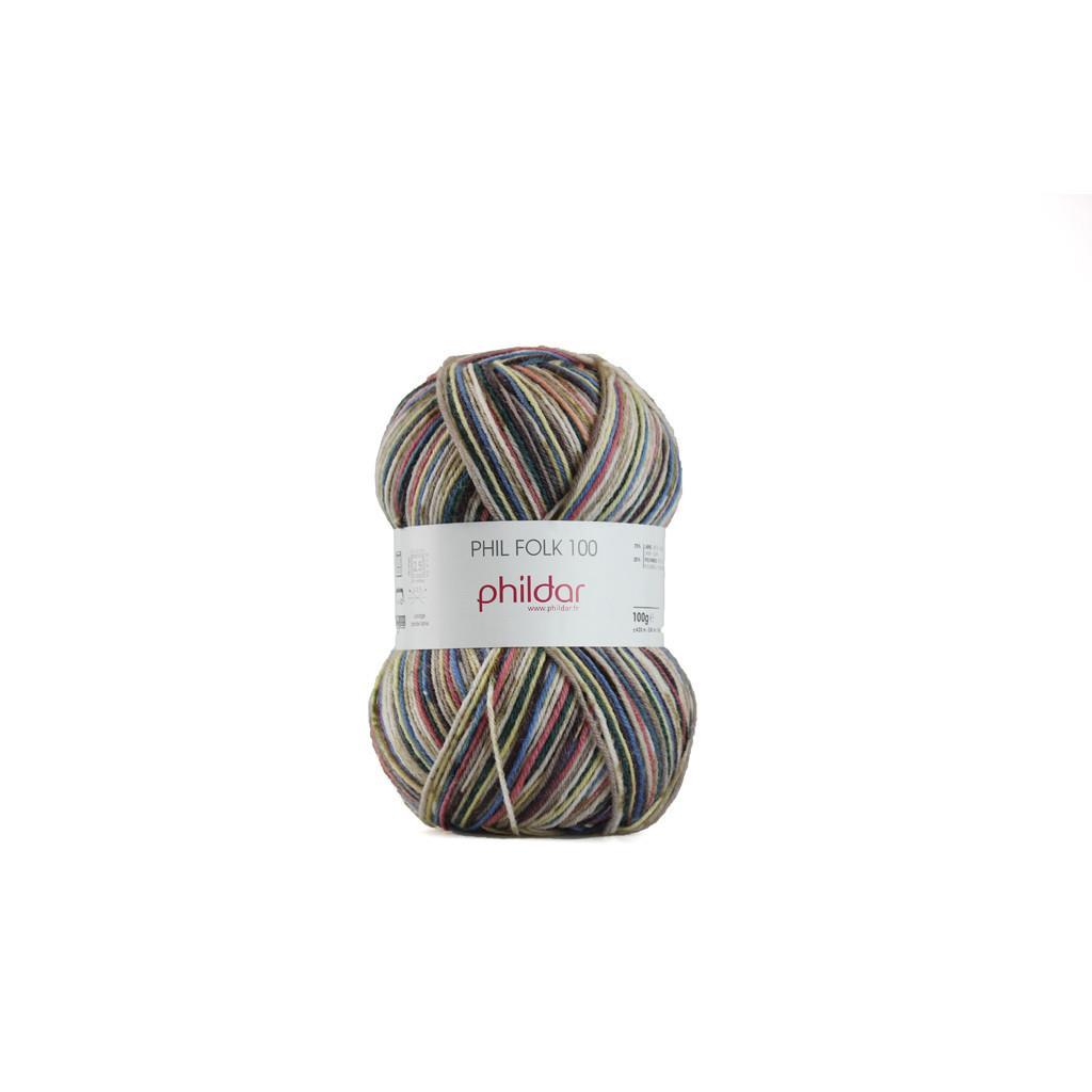Phildar Phil Folk 4 ply Sock yarn
