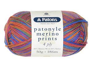 Patonyle Merino Prints