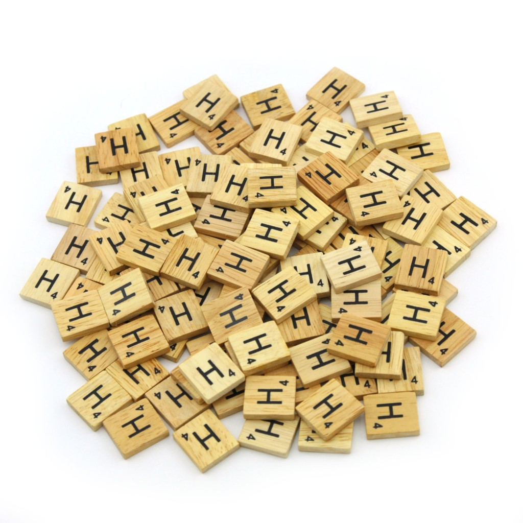 details about wooden scrabble tiles custom letters set for jewelry
