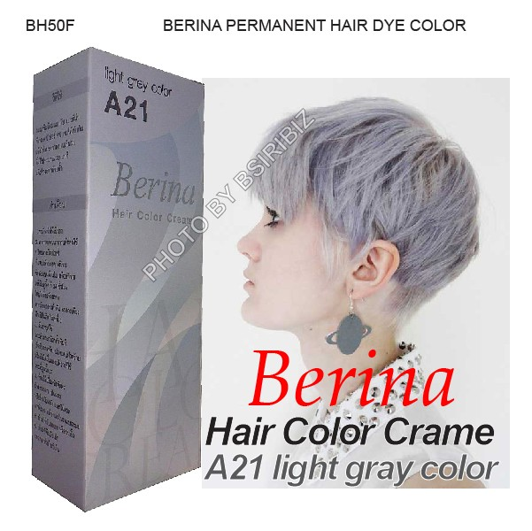 Berina Permanent Hair Dye Various Color Colour Cream Punky Punk Cool Fashion