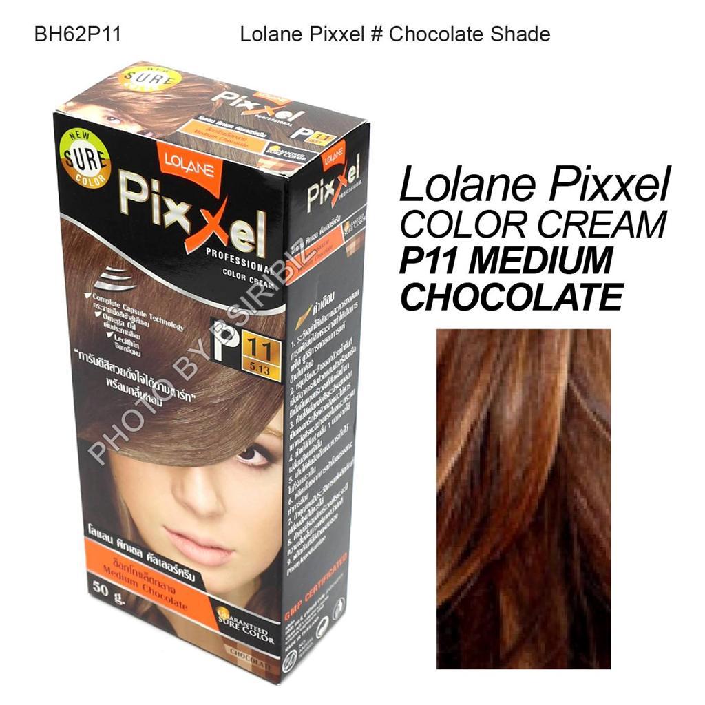 Lolane Pixxel Hair Permanent Dye Color Cream various colors ...