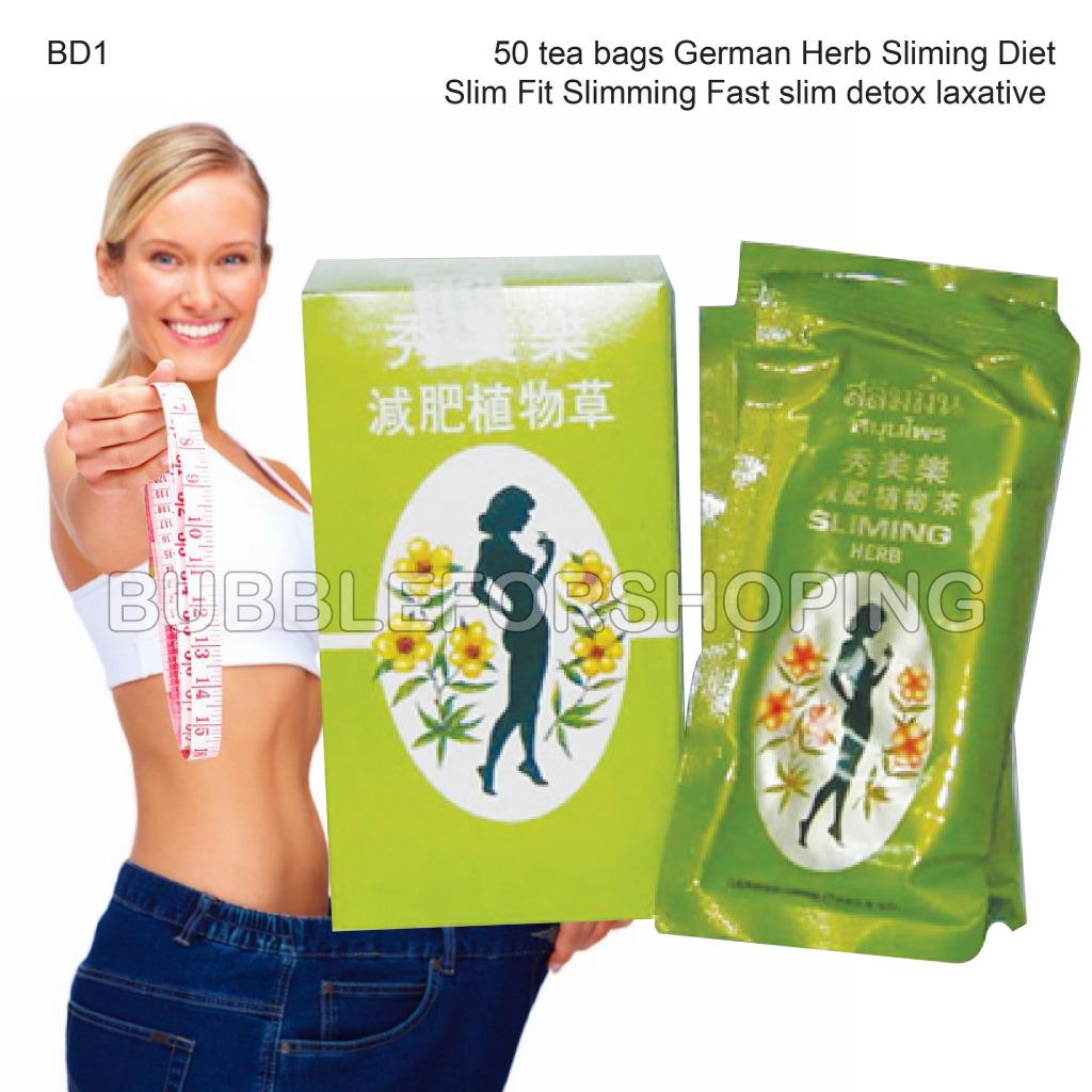 100 Bags Slimming German Herb Sliming TEA Burn Diet Slim ...