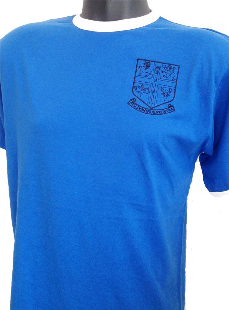 Retro-Chelsea-1905-Football-T-Shirt-New-Sizes-S-XXL-Embroidered-Logo