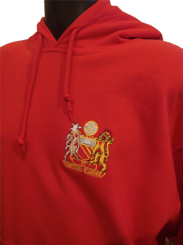 Retro manchester united s football hoodie new sizes