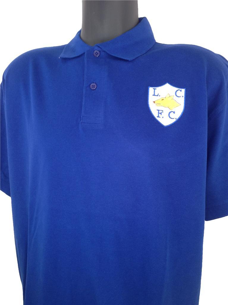 Retro leicester city s football polo shirt new sizes