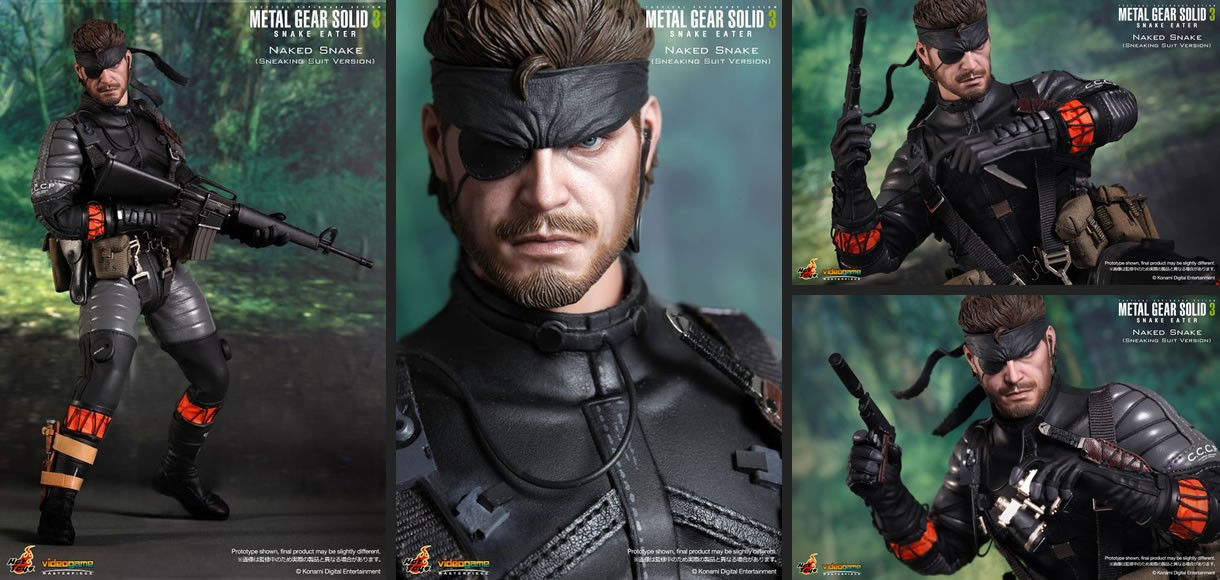 Naked Snake (Sneaking Suit Version) Collectible Figure