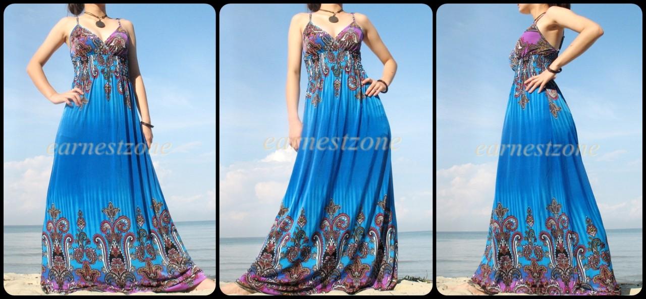 Very long maxi dresses
