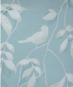 Lockwood Duck Egg Blue Bird Curtains X Xcm New Ebay
