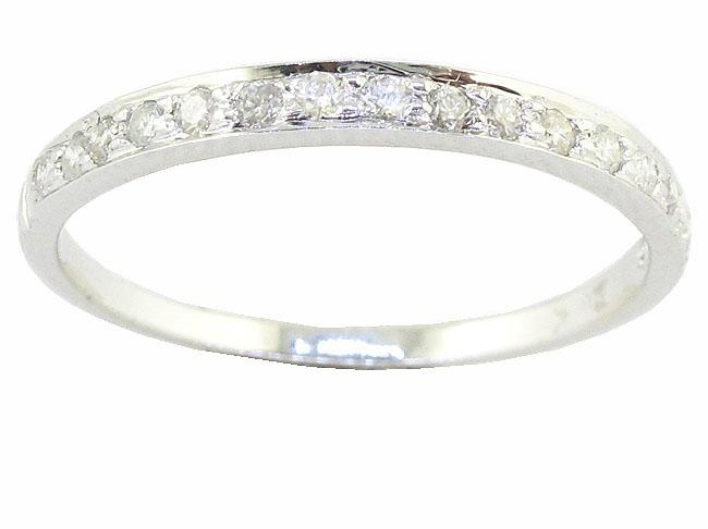 New-14Kt-White-Gold-0-25Ct-Natural-Diamond-Prong-Set-Engagement-Anniversary-Ring