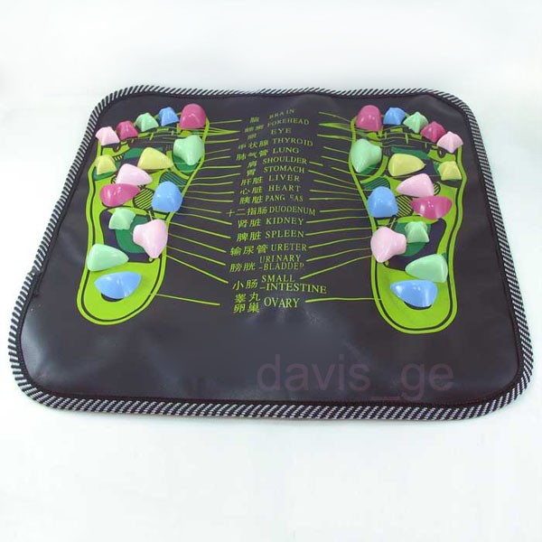 Chinese Foot Massage Walk Stone Leg Massager Mat