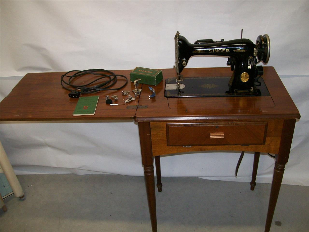 singer sewing machine model 66