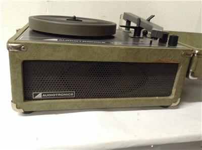 audiotronics instant record player model 302 works ebay. Black Bedroom Furniture Sets. Home Design Ideas
