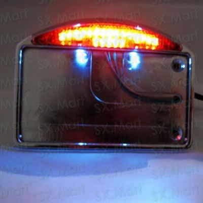 NEW-Side-Mount-License-Plate-LED-Tail-light-for-HARLEY