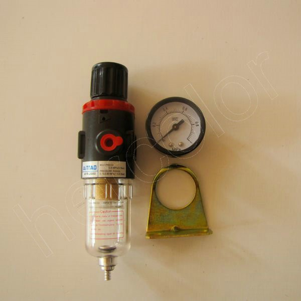 air pressure regulator oil water separator trap filter airbrush compressor. Black Bedroom Furniture Sets. Home Design Ideas