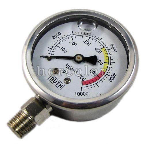 Hydraulic Pressure Meter : New quot mm hydraulic pressure gauge meter kg