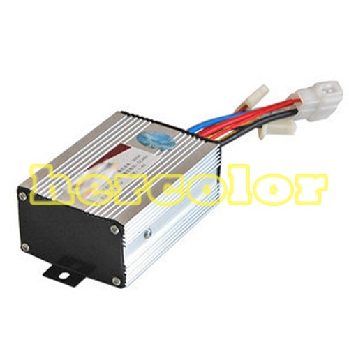 36v 350w Motor Brush Controller For Electric Bicycle