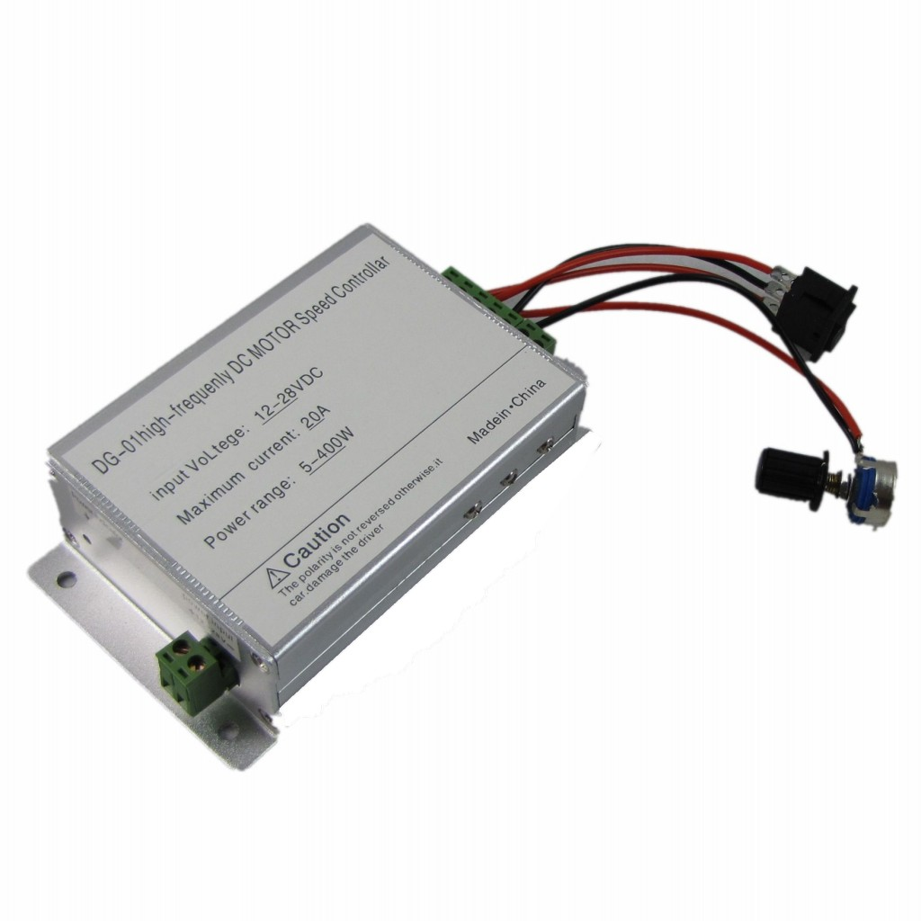 400w dc softstart reversible motor speed control pwm