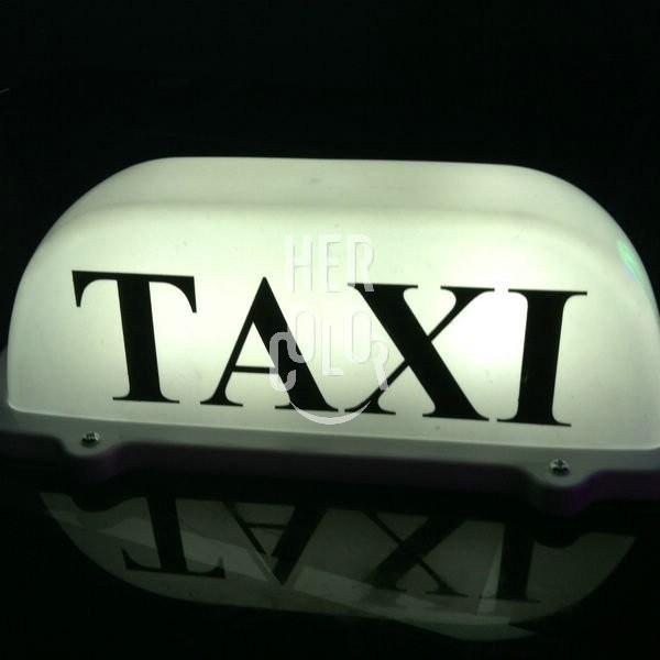 hot sale new led taxi cab top sign light lamp roof. Black Bedroom Furniture Sets. Home Design Ideas