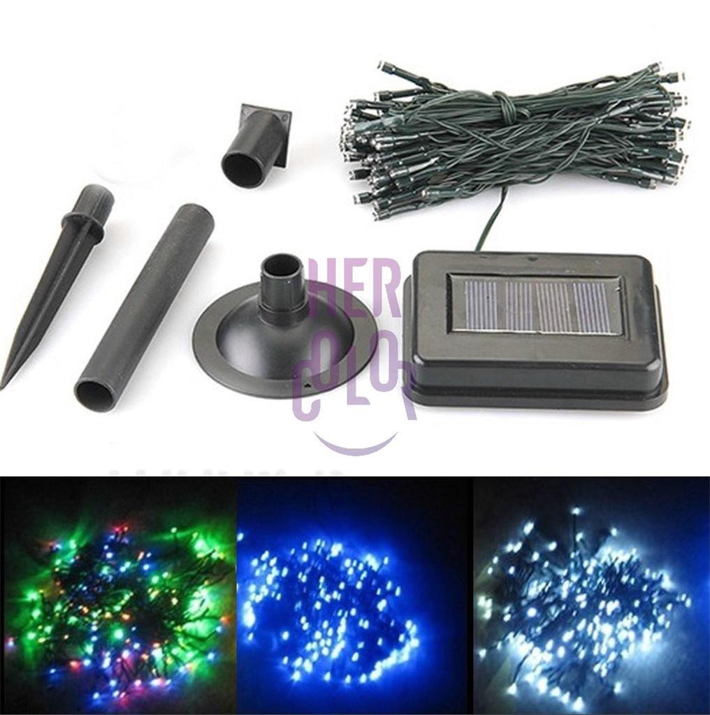 Solar-200-LED-String-Fairy-Lights-Outdoor-Party-Wedding-Garden-lawm-Decor-Xmas