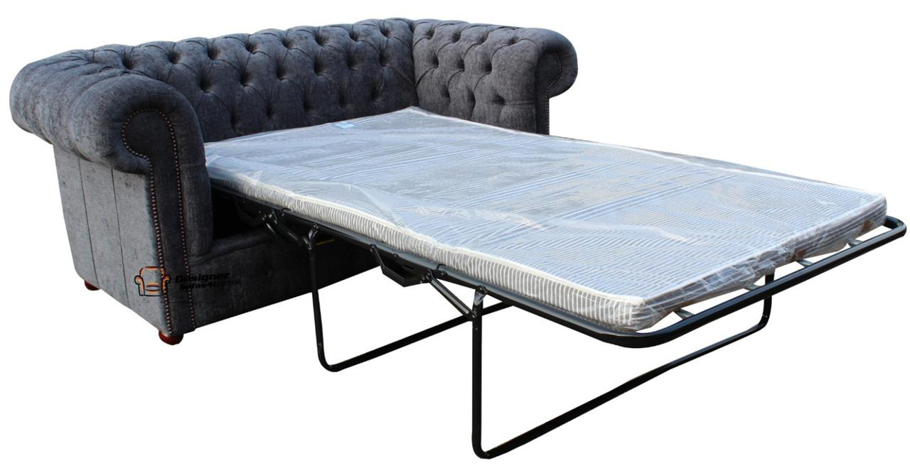 Chesterfield Sofabed 2 Seater Sofa Bed Flamenco Crush