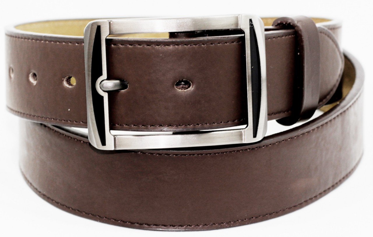 mens dress belt leather brown 1 1 2 quot wide 1 8 quot thick
