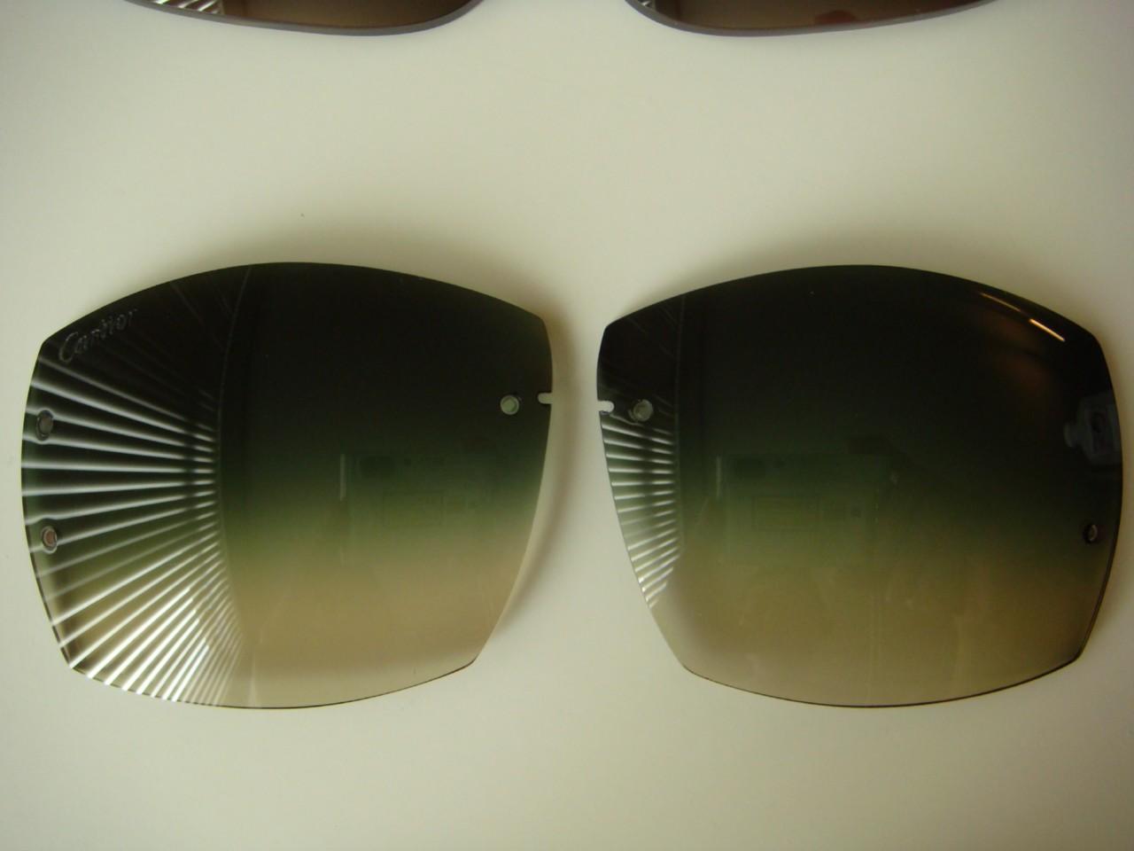Cartier classic c rimless sunglasses replacement lenses eBay