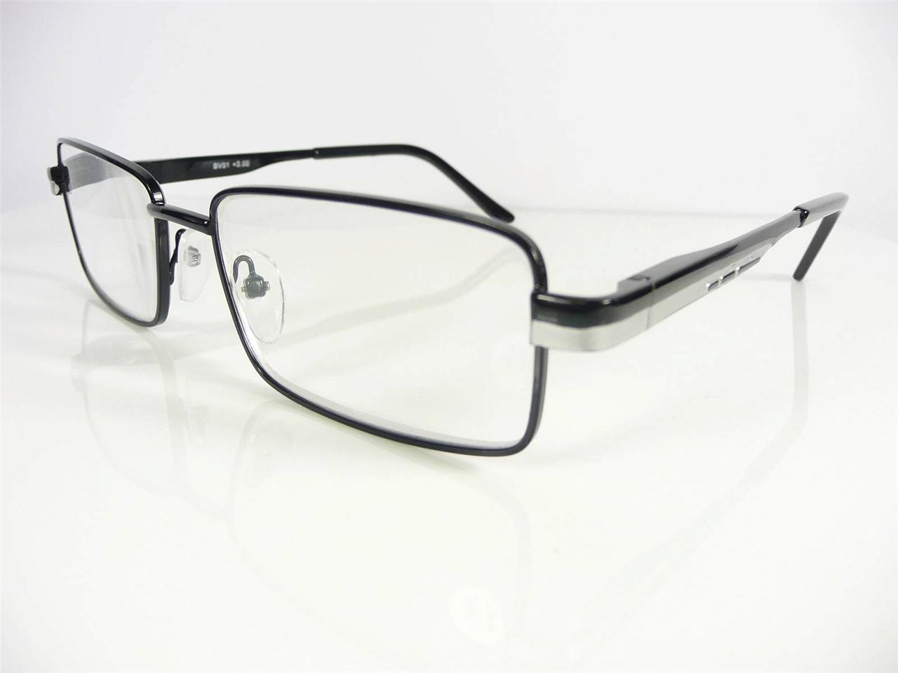 new mens designer metal reading glasses 1 5 1 75 3 s132