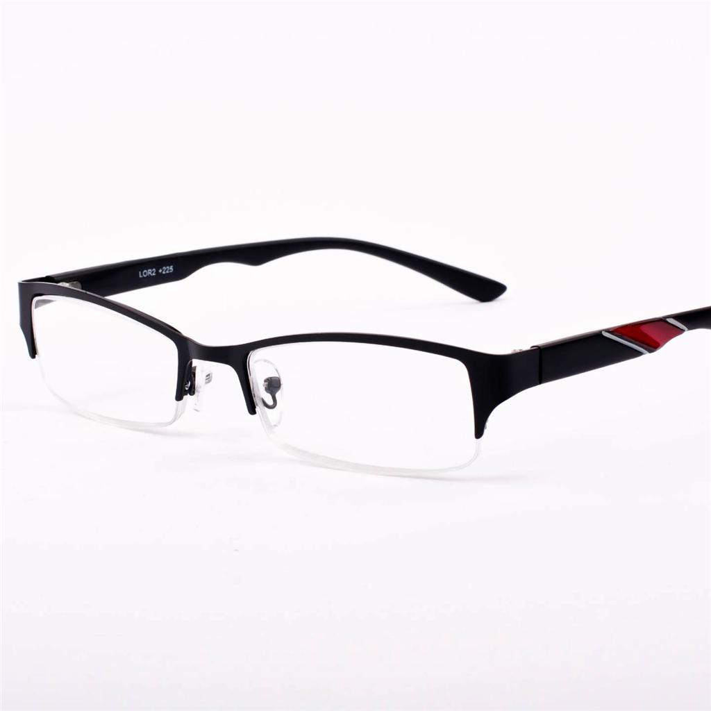 new mens classic designer metal black reading glasses 1