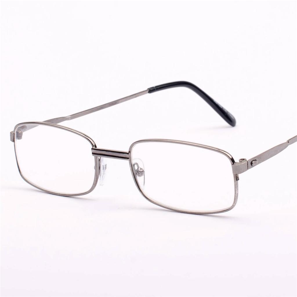 new mens womens metal vintage gun metal reading glasses 1