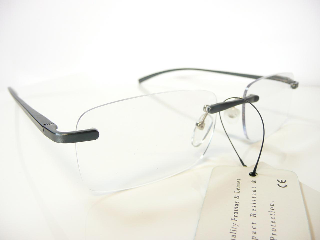 new mens metal rimless reading glasses 1 25 1 5 1 75 2
