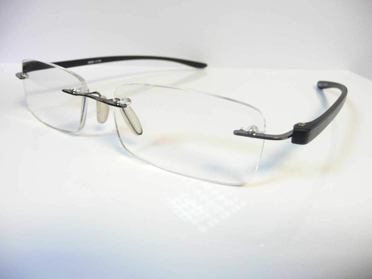 new mens rimless reading glasses 1 1 25 1 5 1 75 2 2 25