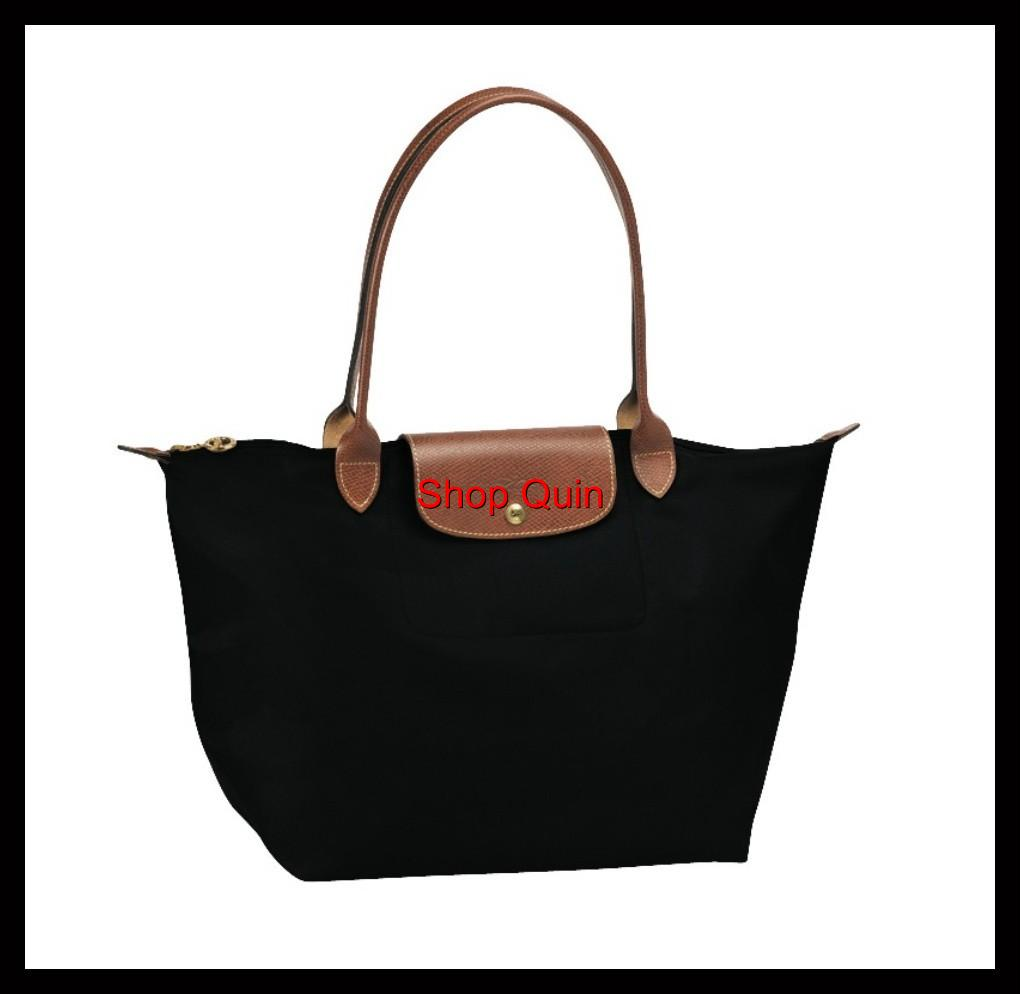 longchamp le pliage handbag tote made in france size medium brand new ebay. Black Bedroom Furniture Sets. Home Design Ideas