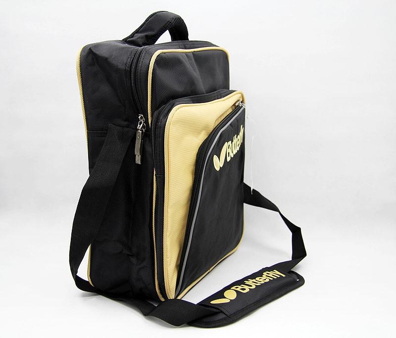 Butterfly TBC-854 Stylish Shoulder bag - Black/Gold