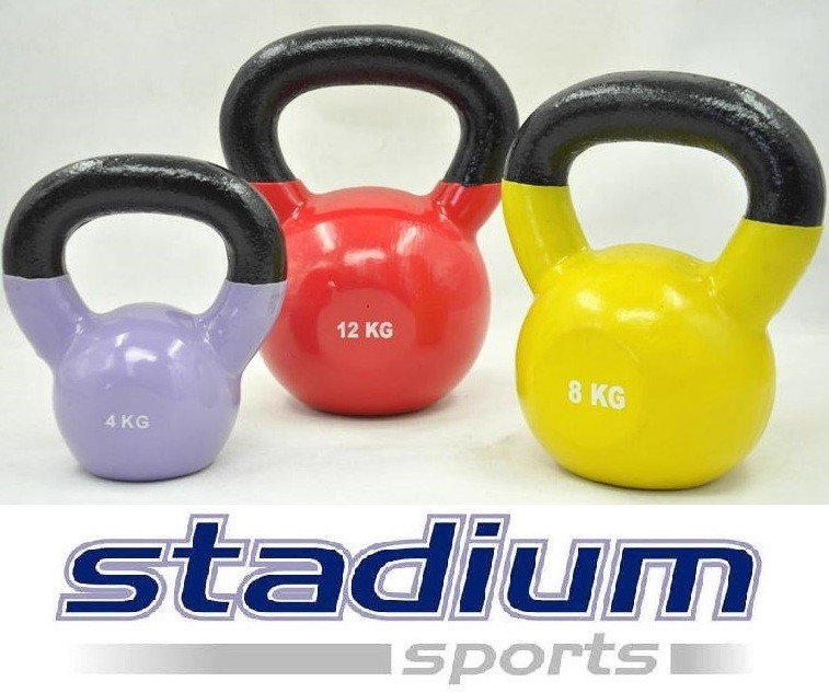 STADIUM-SPORTS-TOTAL-24KG-4KG-8KG-12KG-VINYL-KETTLEBELL-GYM-WEIGHT-SET