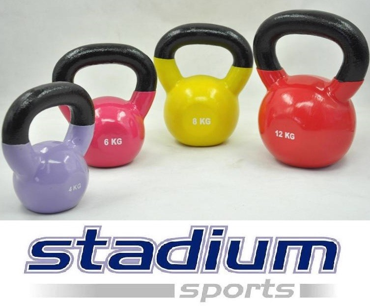 TOTAL-30KG-4KG-6KG-8KG-12KG-VINYL-KETTLEBELL-SET-HOME-GYM-WEIGHT