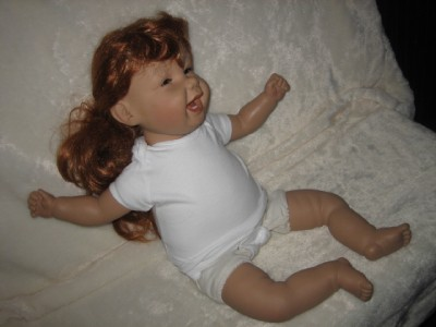 Pat Secrist Hilarious Girl Baby Doll 1995 Needs Dressed Cute