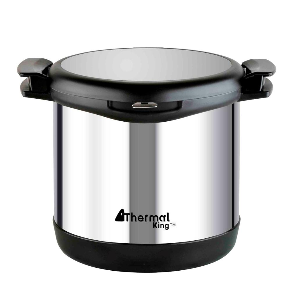 birthday gift stainless steel double layer 6 8l thermal cooker thermo pot cooker. Black Bedroom Furniture Sets. Home Design Ideas