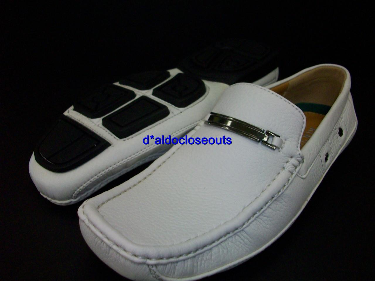mens white italian style driving shoes fashion loafers ebay