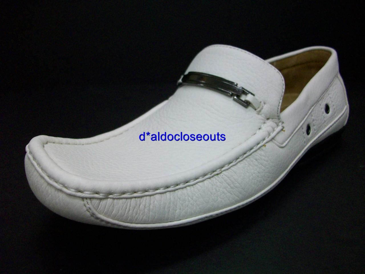 mens casual white italian style driving shoes loafers ebay