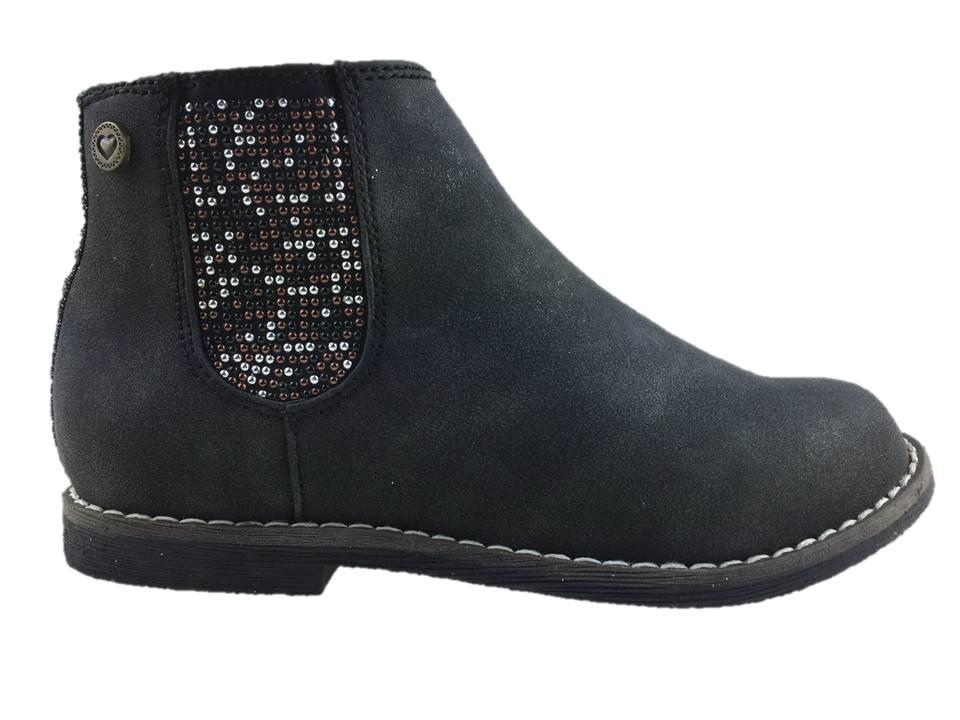 next micro suede ankle boots zip up multi stud