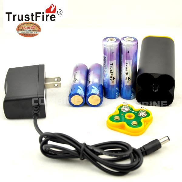 Trustfire 8 4v Rechargeable Detachable Battery Pack