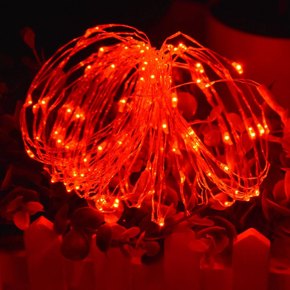2M/3M Copper Wire Fairy Starry LED Silver/Gold String Light AA Battery Operated eBay